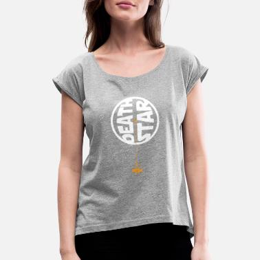 Death Stars Death Star - Women's Rolled Sleeve T-Shirt
