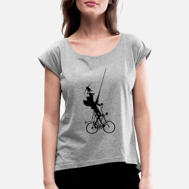 Don Quijote Cycling Don Quixote - Women's Rolled Sleeve T-Shirt