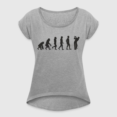 Evolution Golf - Women's Roll Cuff T-Shirt