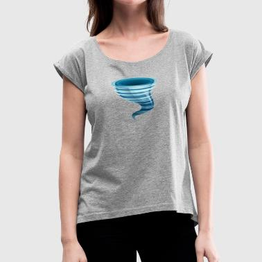 Tornado2 - Women's Roll Cuff T-Shirt