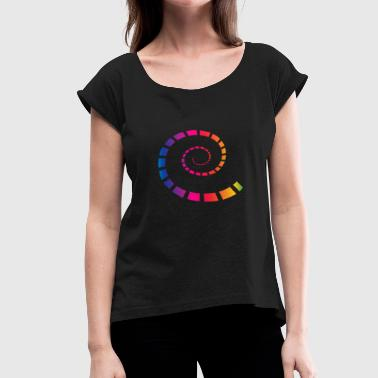 spiral - Women's Roll Cuff T-Shirt