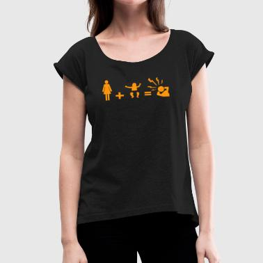 Family Sports Family - Women's Roll Cuff T-Shirt