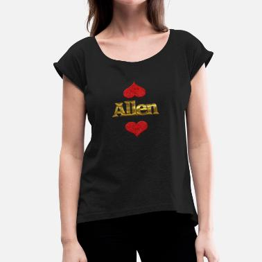 Allen Designs Allen - Women's Roll Cuff T-Shirt