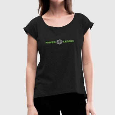 Power Ledger Official Merchandise - Women's Roll Cuff T-Shirt