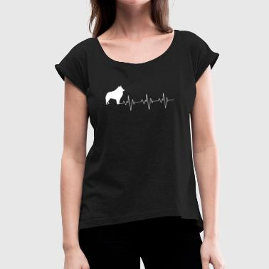 Schipperke - Women's Roll Cuff T-Shirt