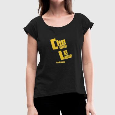 cheque leque - Women's Roll Cuff T-Shirt