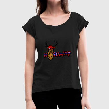 Christmas Gift Ideas Sportswear Norway - Women's Roll Cuff T-Shirt
