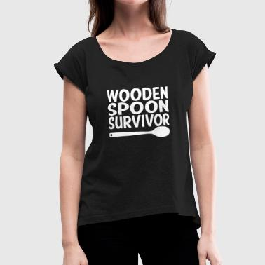 Wooden Spoon Wooden Spoon Survivor - Women's Roll Cuff T-Shirt