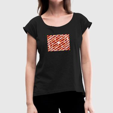 master - Women's Roll Cuff T-Shirt
