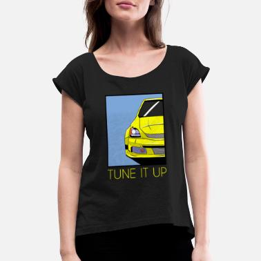 Tuning Tuning - Women's Rolled Sleeve T-Shirt