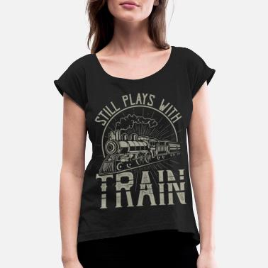 Railway Workers Railway Workers Gifts - Women's Rolled Sleeve T-Shirt