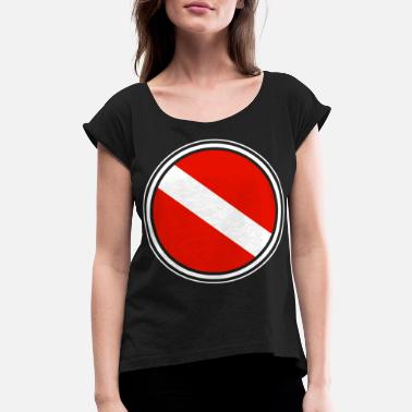 Scuba Scuba Diving - Women's Rolled Sleeve T-Shirt