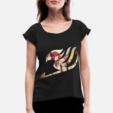 Tail Fairy Tail - Women's Rolled Sleeve T-Shirt