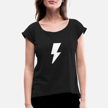 Lighting Lighting - Women's Rolled Sleeve T-Shirt