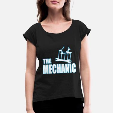 Puppet The Mechanic Puppetry Godfather Funny Gift - Women's Rolled Sleeve T-Shirt