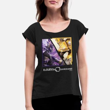 Might & Magic Elemental Guardians - Women's Rolled Sleeve T-Shirt