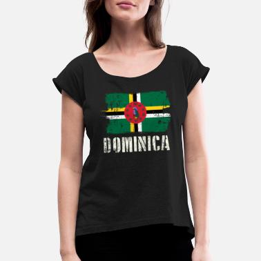 Dominica World Championship Dominica Tee - Women's Rolled Sleeve T-Shirt