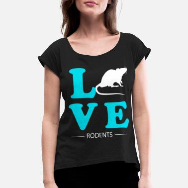 Rodent Rodent - Women's Rolled Sleeve T-Shirt