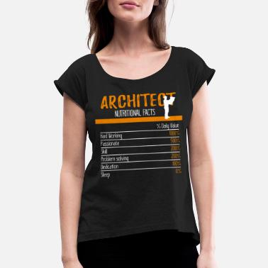 Landscape Architect Ingredients - Women's Rolled Sleeve T-Shirt