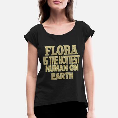 Flora Flora - Women's Rolled Sleeve T-Shirt