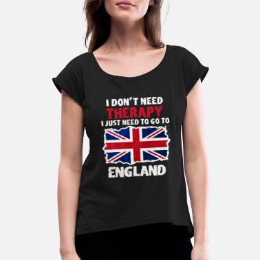 England England - Women's Rolled Sleeve T-Shirt