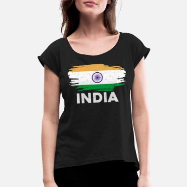 India India - Women's Rolled Sleeve T-Shirt