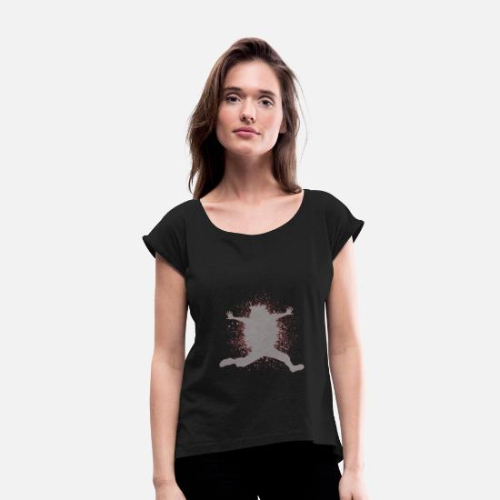 Gift Idea T-Shirts - Dancer - Women's Rolled Sleeve T-Shirt black