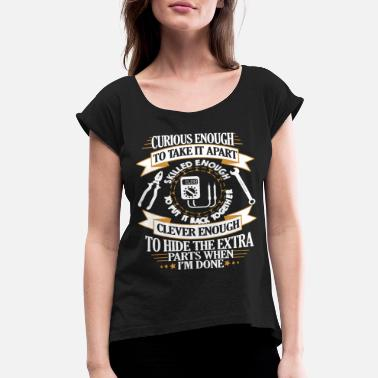 Orchestra ELECTRICIAN - Women's Rolled Sleeve T-Shirt
