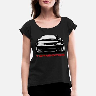 Body Mustang Cobra Terminator - Women's Rolled Sleeve T-Shirt