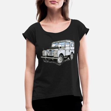 Vehicle vehicle - Women's Rolled Sleeve T-Shirt