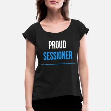 Dialect Proud Sessioner - Women's Rolled Sleeve T-Shirt