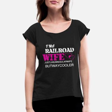 Railroad Railroad Tee Shirt - Women's Roll Cuff T-Shirt