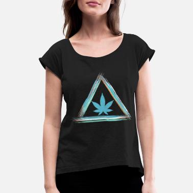 Cannabis Cannabis - Women's Rolled Sleeve T-Shirt