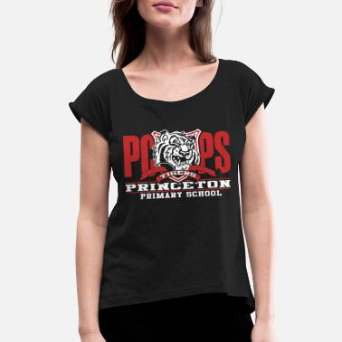 Primary Primary School - PC Primary School - Women's Rolled Sleeve T-Shirt