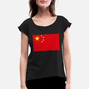 China China - Women's Rolled Sleeve T-Shirt