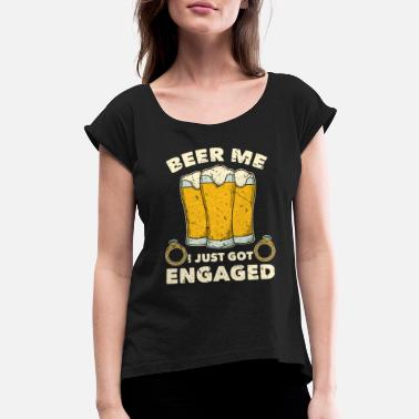 Engagement Party Engagement Party - Women's Rolled Sleeve T-Shirt