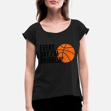 Basketball Lover Basketball. Basketball Lover. Basketballer. Hobby - Women's Rolled Sleeve T-Shirt