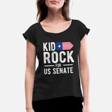 b6a544b9d Kid Rock Kid For US Senate 2018 Election In Rock We Trust - Women'