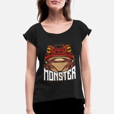Frog Frog - Women's Rolled Sleeve T-Shirt