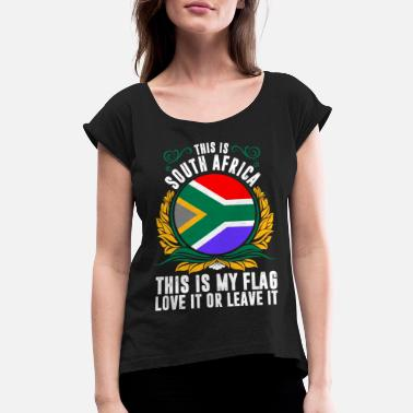 South Africa This Is South Africa - Women's Rolled Sleeve T-Shirt