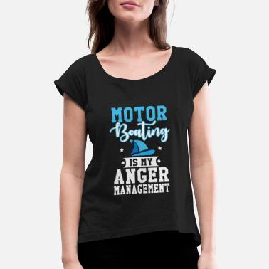 Motorboating Motorboating - Women's Rolled Sleeve T-Shirt