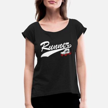 Runner Stuff Runner - Women's Rolled Sleeve T-Shirt