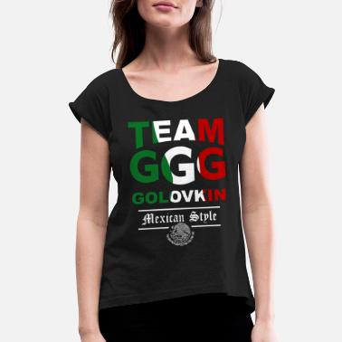 Ggg Team team GGG - Women's Roll Cuff T-Shirt