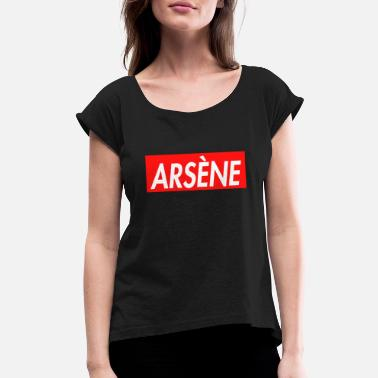 3a4d884e1c34 Supreme Parody Arsene Supreme Parody - Women's Rolled Sleeve T-Shirt