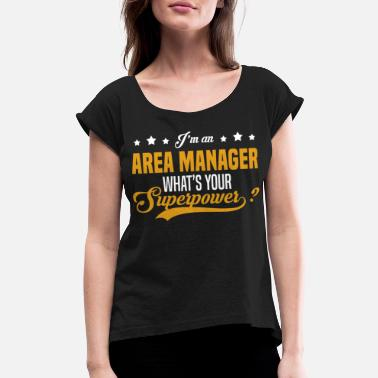 Manage Area Manager - Women's Rolled Sleeve T-Shirt