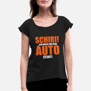 Automobile Automobile - Women's Rolled Sleeve T-Shirt