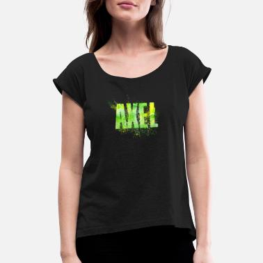 Axel Axel - Women's Rolled Sleeve T-Shirt