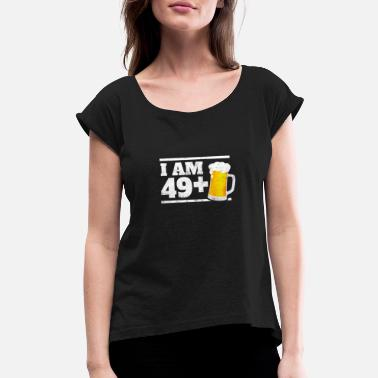Gift For 50 Year Old Woman I Am 49 1 Beer Funny Milestone 50th Birthday