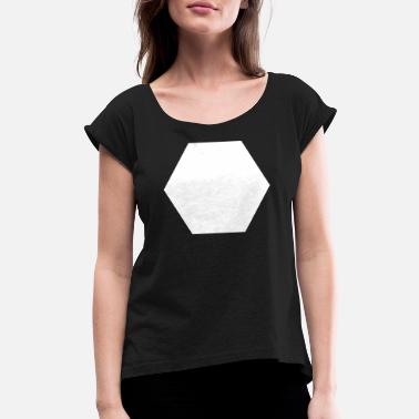 Hexagon Hexagon - Women's Rolled Sleeve T-Shirt