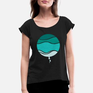 H2o H2O - Women's Rolled Sleeve T-Shirt